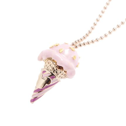 Mickey Mouse's Strawberry Ice Cream Necklace