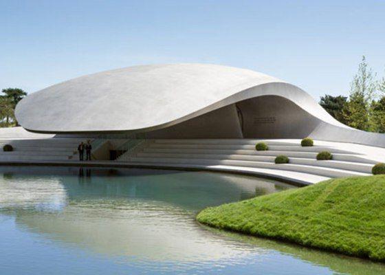 Fábrica da porsche arquitetura moderna Alemã
