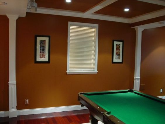 Colors wall accents and accent colors on pinterest Fake window for basement