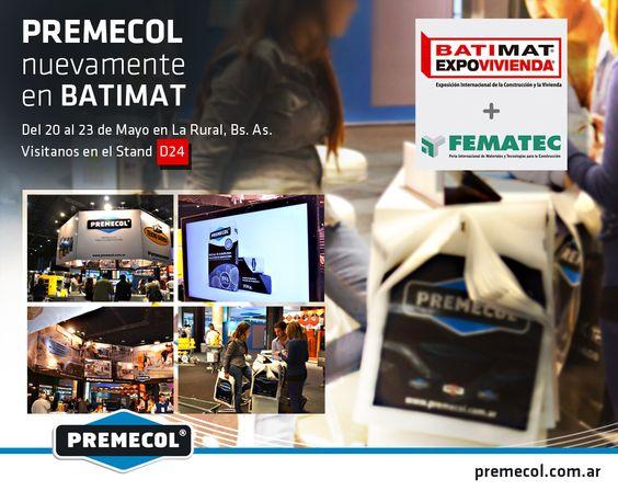 PREMECOL estará presente nuevamente como otros años presentando su línea de productos en crecimiento e innovación permanente; entablando reuniones con sus clientes y proveedores y conociendo gente nueva.