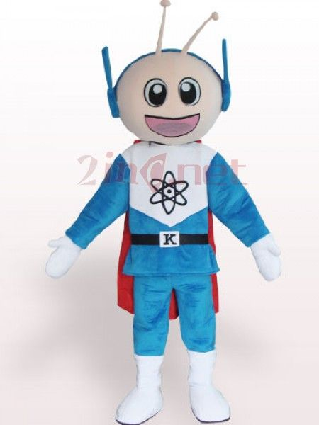 $175.46Blue Super Man Short Plush #Adult #Mascot #Costume