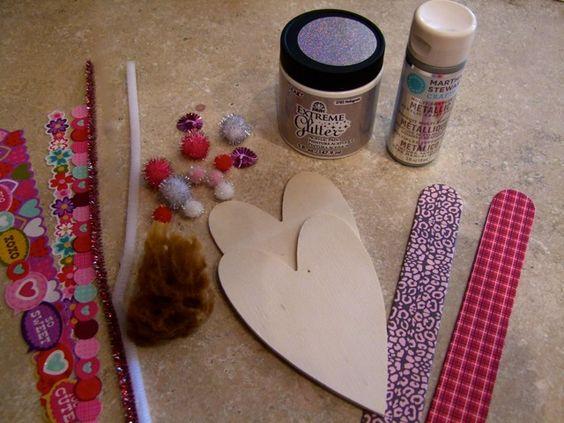 Kids Craft Blog by PlaidOnline.com - Monday Funday: Hearts a' Flutter Bugs