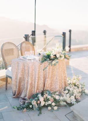 Flowers blush white Wedding Inspiration - Style Me Pretty