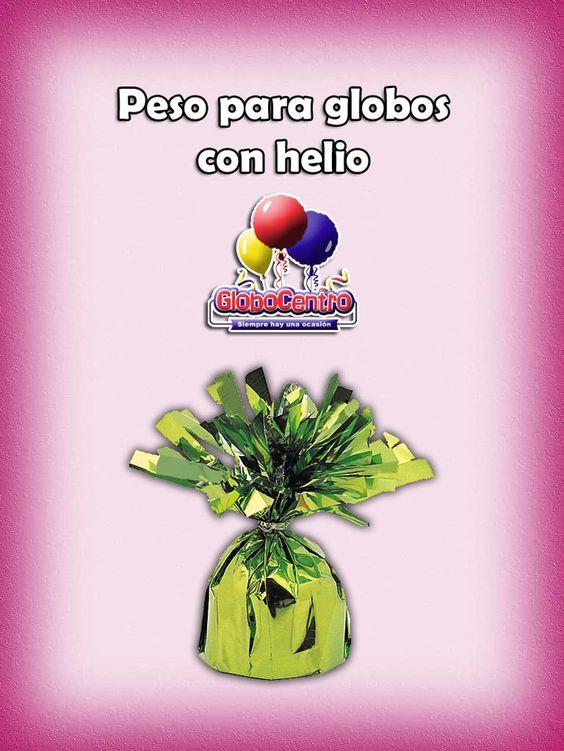#Variedad de #Pesos para tus #Decoraciones con #Globos con #Helio!!!