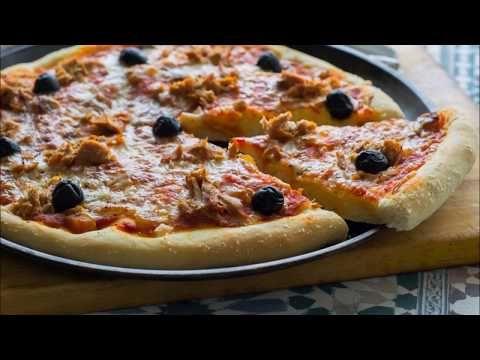 Cómo Hacer La Mejor Masa De Pizza Casera Masa De Pizza Casera Masa Para Pizza Pizza Casera