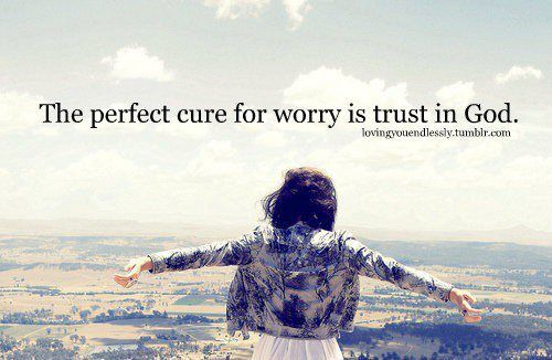 cure to worry
