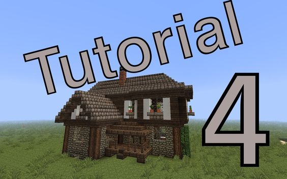 minecraft tutorial [Mittelalter Haus] #4 (deutsch)