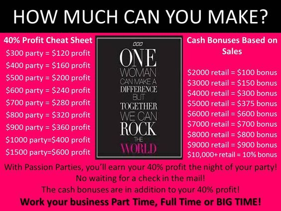 I need ONE person, who can spare ONE NIGHT a month (at least), to join my team! One party a month is all you need to stay active....We have til midnight tomorrow to join for $259 and get $244 in FREE BONUS PRODUCT!!! That means you can take that product and use it for yourself, use it for demo OR turn around and sell it and get almost your entire investment back!  www.jessie7.yourpassionconsultant.com