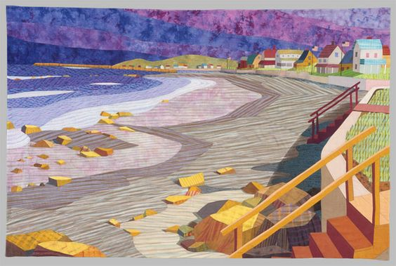 Drakes's Island  Day's End Quilt