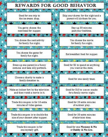 handmade kids behavior charts rewards and consequences - Yahoo Search Results