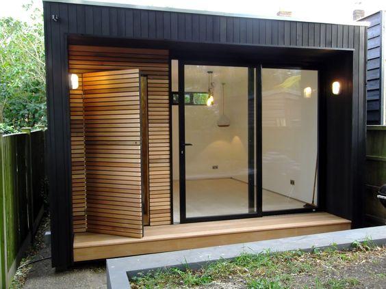 Siding for homes shiplap siding and home exterior design for Glass garden office