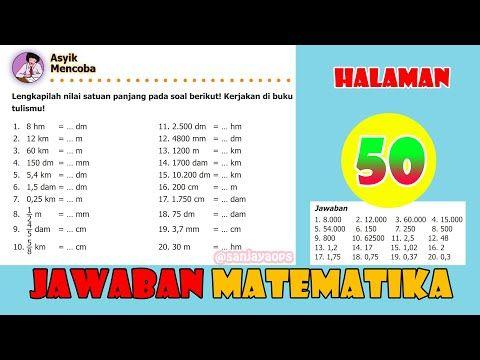 Sanjayaops Youtube Matematika Kelas 5 Matematika Buku