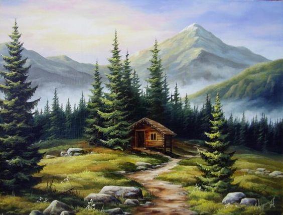 contoh gambar lukisan naturalisme 4