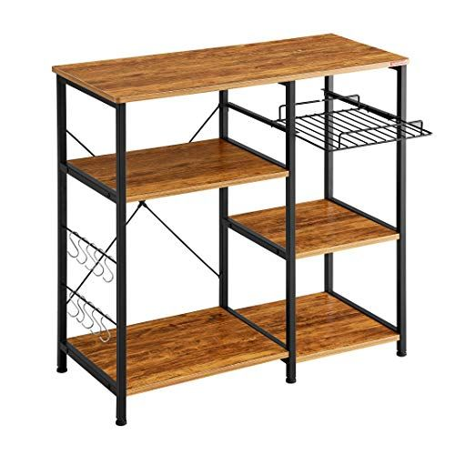 Mr Ironstone Kitchen Baker S Rack Vintage Utility Storage Shelf