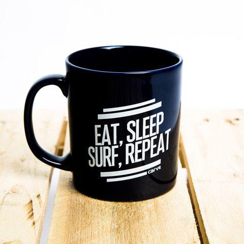 Eat, Sleep, Surf, Repeat Mug