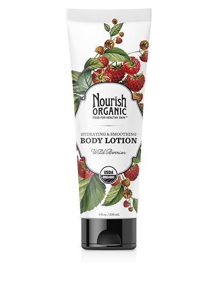 Hydrating & Smoothing Organic Body Lotion