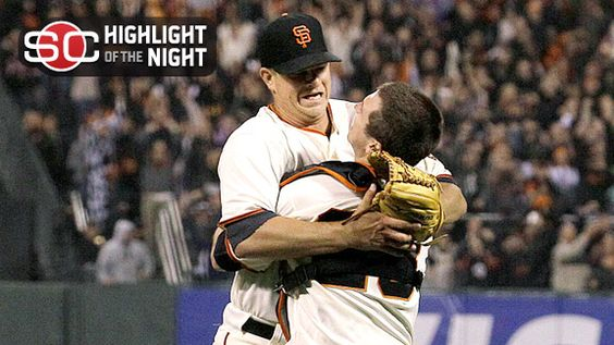 Matt Cain throws teh first perfect game in the history of the San Francisco Giants.