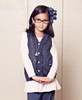 Homeroom Back to School, 2011: Manners Count Sweater Vest  Matilda Jane Girls Clothing