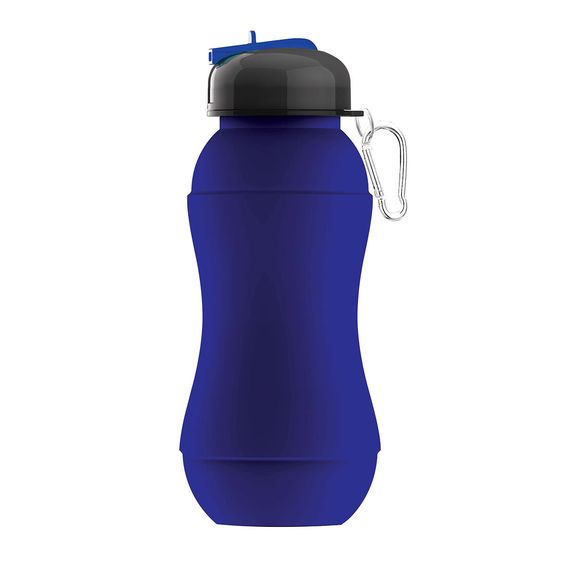 Sili-Squeeze Blue drink bottle and freezable too!