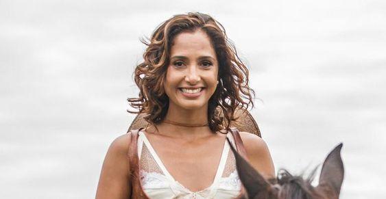 Camila Pitanga tem o cabelo mais pedido da Rede Globo