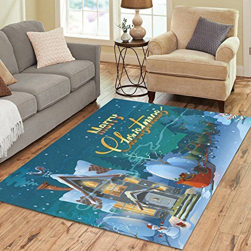 Area Rug Love Nature Sweet Home Stores Collection Custom Christmas