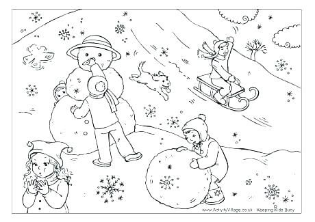 Coloring Pages For Adults Pdf Kids Unicorn Disney Moana Kid And Dog Winter Download Boy Playing Snow W Sledding Page Halloween Cat Quot Vinter Bildkonst Bilder