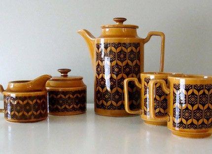 Vintage japanese tea set