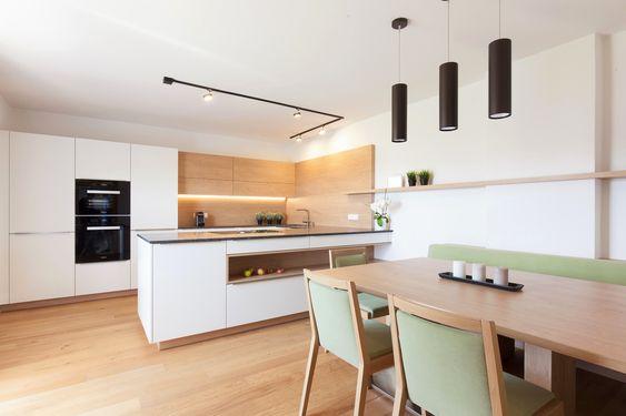 krumhuberdesign u203a Gesamtkonzept PHK Haus 2 Pinterest House - küche weiß mit holz