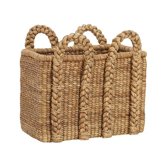 Beachcomber Rectangular Handled Basket