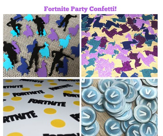 Fortnite Party Confetti