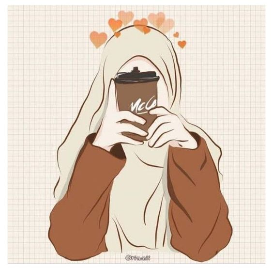 Kumpulan Gambar Kartun Muslimah 33
