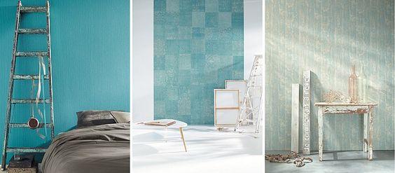 Caselio Wallpaper #behang Etna 63626001 inspiratie interieur