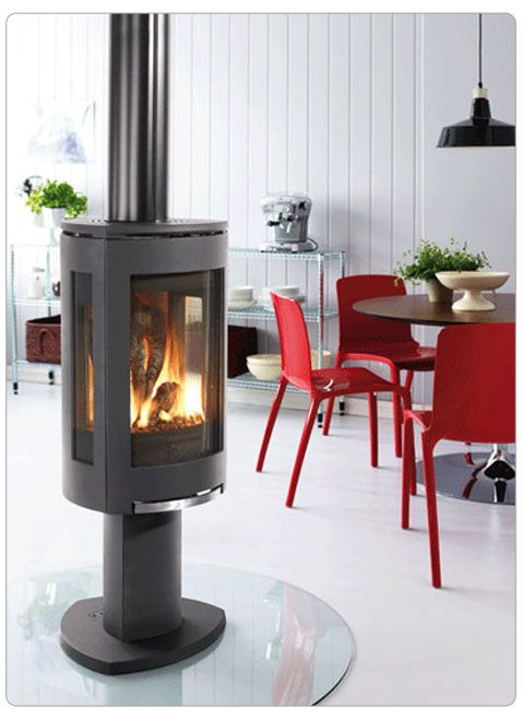 Stove Glasses And Fireplaces On Pinterest