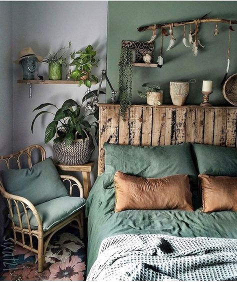 48 Trendy Home Decoration Color House Interior Home Bedroom Home Green nature bedroom ideas