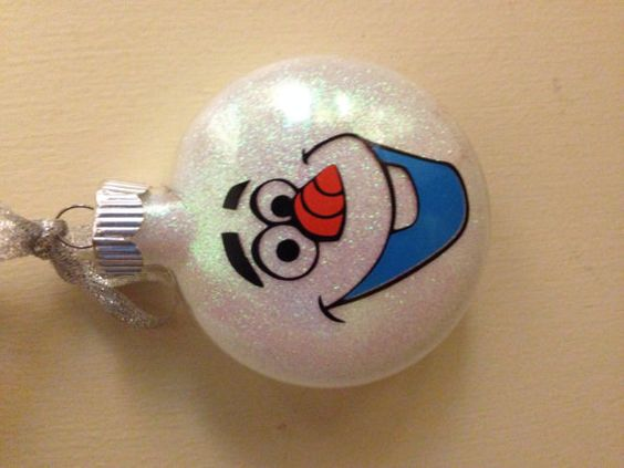 Hey, I found this really awesome Etsy listing at https://www.etsy.com/listing/199798798/custom-disney-frozen-olaf-ornament-with: