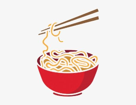 A Bowl Of Noodles Cartoon Png And Clipart Noodle Art Cute Food Drawings Food Logo Design