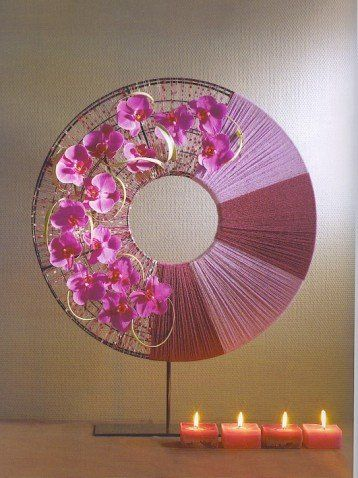 Inspiring Oriental Flower Arrangement For You To Try - Show Your Fans: