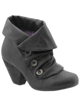 Button booties! $59