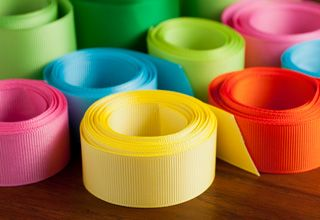 Ribbons - 1350 Colors  Satin, Grosgrain, Offray, Polka Dot, Organza, Wedding, Silk and Clearance Ribbons at Cheap Wholesale Prices. Our #ribbons are made in USA  Find: http://www.fuzzyfabric.com/ribbon