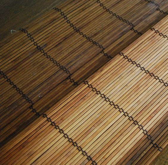 Staining Bamboo Blinds