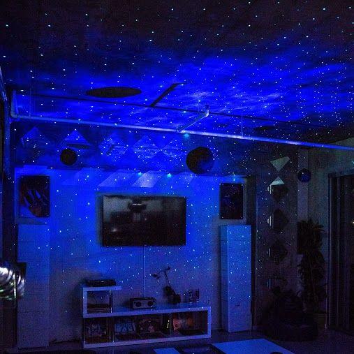 Skylite Laser Projector Starry Sky Effect Star Lights Bedroom Bedroom Ceiling Light Ceiling Projector