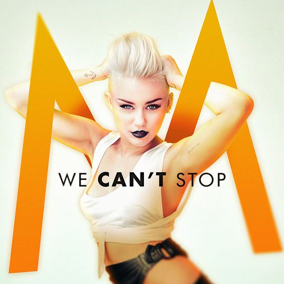 Miley Cyrus – We Can't Stop (single cover art)