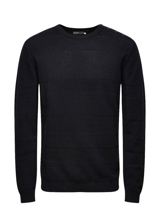 CORE by JACK & JONES - Pullover von CORE - Regular fit - Rundhalsausschnitt mit geknöpfter Schulter - Bündchen und Saum sind gerippt 100% Baumwolle...