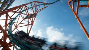 Busch Gardens' Tempesto coaster squeezes a lot of excitement into a tight space