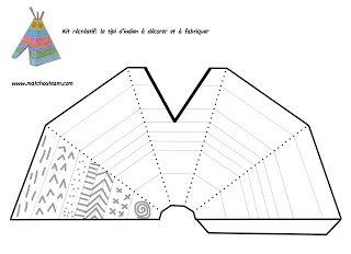 kit r cr atif des petits indiens rencontr. Black Bedroom Furniture Sets. Home Design Ideas