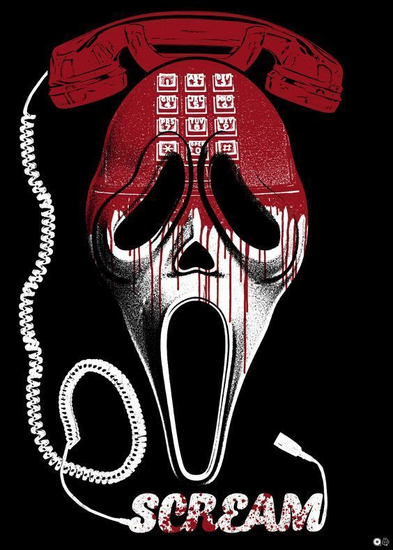 Alternative Poster For The Horror Movie Scream 1996 Directed By Wes Craven Cast Neve Campbell Co Horror Movie Icons Horror Movie Posters Horror Movie Art