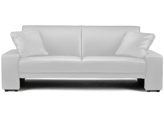 Canape Convertible Simili Cuir Blanc Marcus Canape Convertible