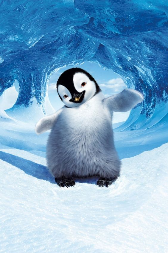 Descargar Happy Feet 2006 Pelicula Completa Ver Hd Espanol Latino Online Penguin Wallpaper Penguins Cute Penguins