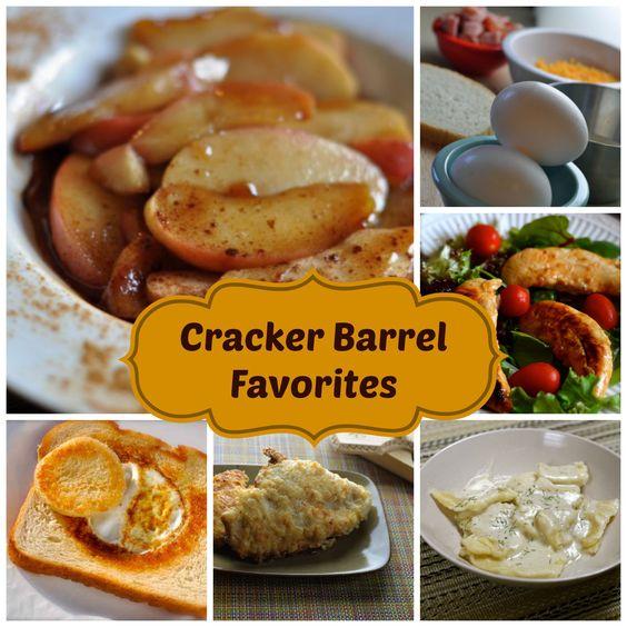 Love the Cracker Barrel, over 17 Cracker Barrel CopyCat recipes for you to check out.  #copycat
