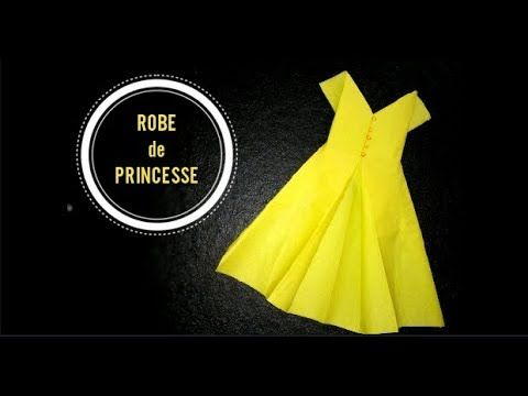 Pliage De Serviette Robe De Princess Inspiration
